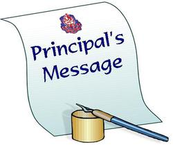 Principal's Message - Mon Apr 6, 2020