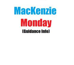 MacKenzie Monday - May 25, 2020